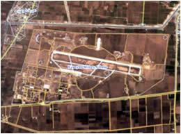 The Kuweyres military airbase, which was attacked by ISIS (Wikimapia; Google Maps)