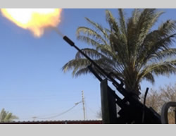 Anti-aircraft fire by ISIS operatives against coalition aircraft in western Baiji (Justpaste.it, August 15, 2015)