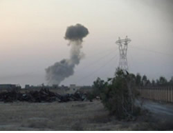 A second car bomb attack against Iraqi Army position in the Tel Abu Jarrad area, west of Baiji (ISIS-affiliated Twitter account, August 14, 2015)