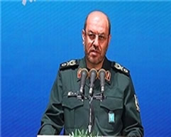 Hossein Dehqan, Iranian defense minister, picture from Sepah News