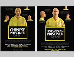 "The Norwegian citizen and Chinese citizen ""offered for sale"" (Dabiq, September 11, 2015)"