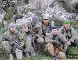 The group from Crimea that pledged allegiance to the Al-Nusra Front (The Al-Nusra Front's media arm)