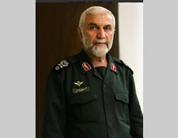 Brigadier General Hossein Hamedani, Senior Iranian Islamic Revolutionary Guards Corps Commander, who was killed in Aleppo (Twitter, October 9, 2015)