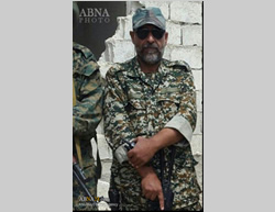 Farshad Hasounizadeh, a former commander of the Saberin Brigade, killed in Syria (IBNA)
