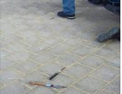 Knives used by Palestinians during the stabbing attack in Beit Shemesh (Facebook page of PALDF, October 22, 2015).