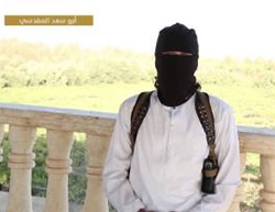 Abu Saad al-Maqdisi, who claims to be a Palestinian, calling for the killing of Jews (archive.org file-sharing website, October 22, 2015)