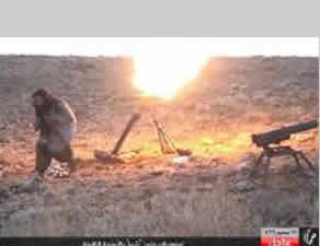 ISIS operatives attacking the Ithriya checkpoint (muslims-news.com, October 31, 2015)