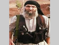 Abu Ali al-Baridi, aka the Uncle, commander of the Shuhada al-Yarmouk Brigade, who pledged allegiance to ISIS leader Abu Bakr al-Baghdadi and has just been eliminated by the Al-Nusra Front (Elaph, November 16, 2015)