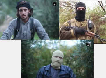 ISIS operatives threaten terrorist attacks in Europe and the United States (Muslims-news.net, November 19, 2015).