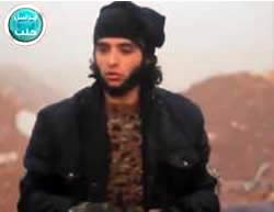 An Iranian prisoner in the hands of the Al-Nusra Front.