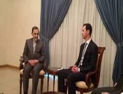Ali-Akbar Velayati meets with Bashar Assad (IRNA, November 29, 2015).