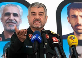 Mohammad-Ali Jafari, commander of the IRGC (Tasnim News, December 9, 2015)