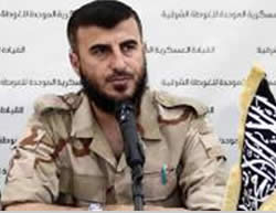 Jaysh al-Islam Commander Zahran Alloush.