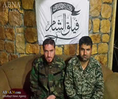 Two Iranian fighters allegedly captured by Faylaq al-Sham (ABNA News, December 21, 2015)