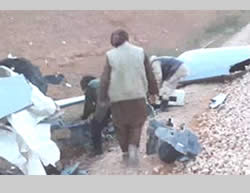 ISIS video documenting the UAV that crashed (Aamaq, January 8, 2016)