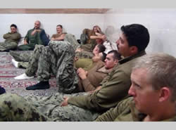 The American crew members in Iran (Asr-e Iran, January 13, 2016).
