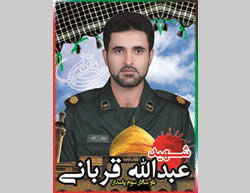 Abdollah Qorbani, one of the IRGC fighters killed in Syria (Facebook page affiliated with the IRGC, January 6, 2016).