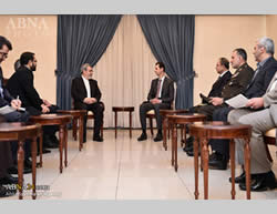 The Iranian minister of the interior meets with Bashar Assad (ABNA News, January 13, 2016).