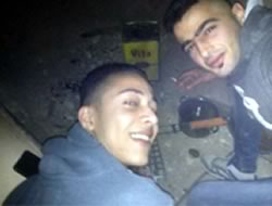 The two Palestinian terrorists who carried out the stabbing attack inside the village of Beit Horon, killing one Israeli woman and wounding another.