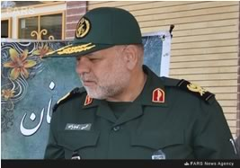 Mohsen Qajarian, senior officer in the Revolutionary Guards, who was killed near Aleppo