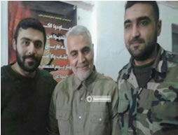 Qasem Soleimani, commander of the IRGC's Qods Force, in a recent photo published on February 2, 2016 (Twitter account).