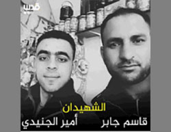The two Palestinian terrorists (Facebook page of QudsN, March 14, 2016).