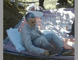 Qasem Soleimani on vacation for the Iranian New Year (Nowruz (Iranian Telegram messaging app).