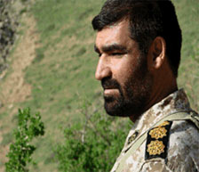 IRGC officer Mashollah Shamseh, killed in Syria (Iranian Telegram channel, April 3, 2016).