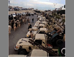 The Libyan Army's preparations for the liberation of the city of Sirte (Twitter, April 10, 2016)
