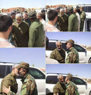 Qasem Soleimani in the region around Fallujah (Twitter, May 25, 2016).