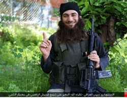 Suicide bomber codenamed Habib al-Iraqi, who carried out a suicide bombing attack in Baghdad with an explosive belt (Haqq, June 10, 2016)