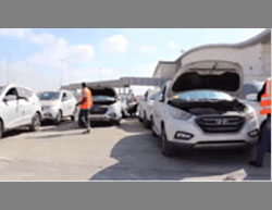 Vehicles enter the Gaza Strip through the Erez crossing (Paltoday, July 13, 2016 and the Facebook page in Arabic of the Israeli coordinator for government activities in the territories, July 15, 2016).