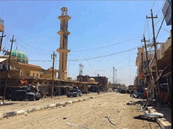 Fallujah after the liberation (Twitter account of Iraq Victorious, June 28, 2016).