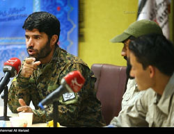 Fatemiyoun Brigade fighter interviewed by (Tasnim News, July 24, 2016).