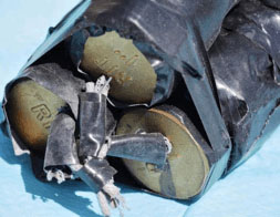 The Israel Police Force exposed the intention of a Palestinian from Hebron to attack the light railway in Jerusalem. The bombs were seized before they could be detonated (Jerusalem Police Spokesman's Unit, August 2, 2016).