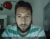Abdel Malik Petitjean in a video made before the attack, calling on Muslims to attack targets in France and in the coalition countries (Aamaq, July 28, 2016).