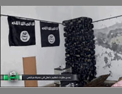 One of the ISIS headquarters in Jarabulus that fell to the attacking forces (Alsalser.com, August 24, 2016).