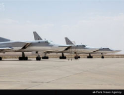 Russian bombers deployed in Iran (Fars, August 16, 2016).