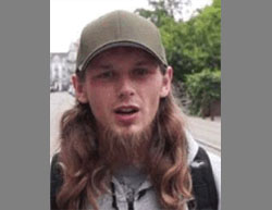 Mesa Hodzic, the ISIS operative who carried out the shooting attack against the police in Copenhagen (ISIS-affiliated Twitter account, September 2, 2016)