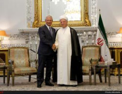 Bartolone and Rafsanjani (ILNA, September 6, 2016)
