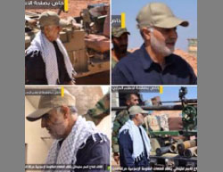 Qasem Soleimani in south Aleppo (Twitter account, September 6, 2016)