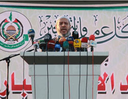 Khalil al-Haya, of Hamas' political bureau, delivers a sermon calling on Palestinians to intensify the intifada (Alresala.net, September 12, 2016).