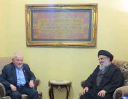 Niri and Nasrallah (Tasnim, September 14, 2016)