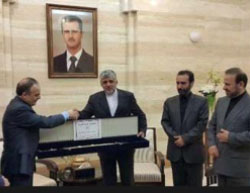 The outgoing Iranian ambassador to Syria bids farewell (ILNA, October 14, 2016).