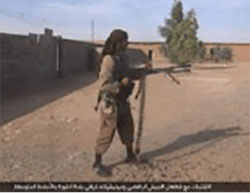 Photos released by ISIS, documenting the campaign on Al-Shura (Haqq, October 30, 2016)