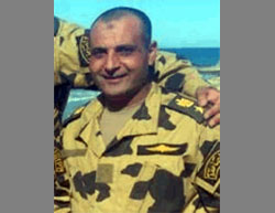 Col. Rami Hassanein, Commander of the 103th Commando Battalion, killed in North Sinai (Egyptian Army Spokesman Facebook page, October 29, 2016)