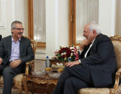 Mohammad Javad Zarif meets with Mala Bakhtiar (Tasnim, October 31, 2016).