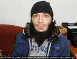 The suicide bomber Abu Yasser the Dagestani (Haqq, November 27, 2016)