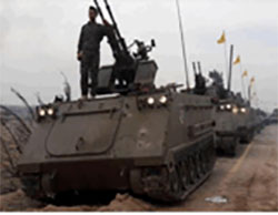 US-made M-113 APCs in Hezbollah's military show of strength  (treckat.com, November 14, 2016)
