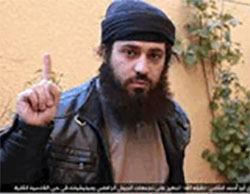 The suicide bomber Abu Ahmed the Syrian.